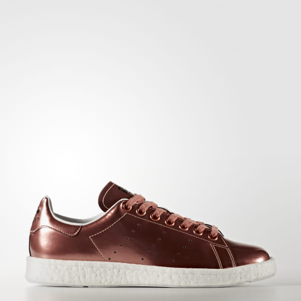 79efe2be087c Stan Smith Boost Shoes Copper Metalic   Copper Metalic   Cloud White BB0107