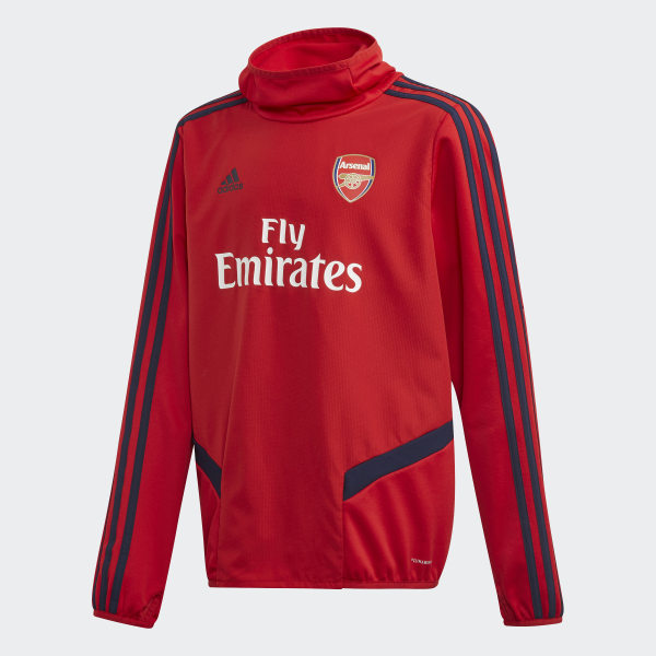 6e7f5141 Arsenal Warm Top Scarlet / Collegiate Navy EH5712