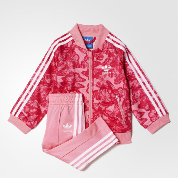 96be0a52ade SST Track Suit Easy Pink / Bold Pink / White BK5604