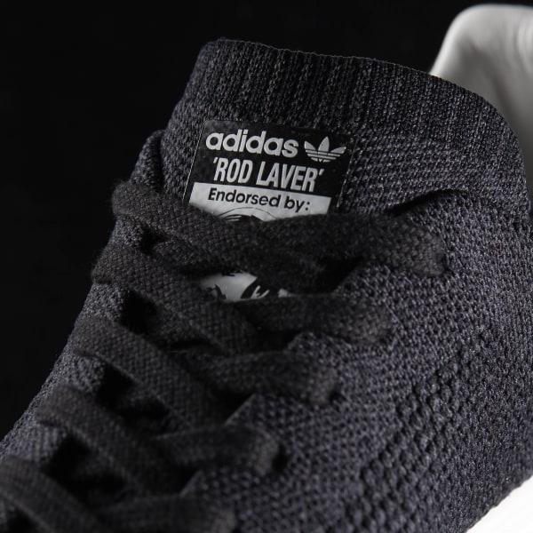 82dbfe4d1 Rod Laver Super Primeknit Shoes Core Black / Cloud White / Core Black BY4356