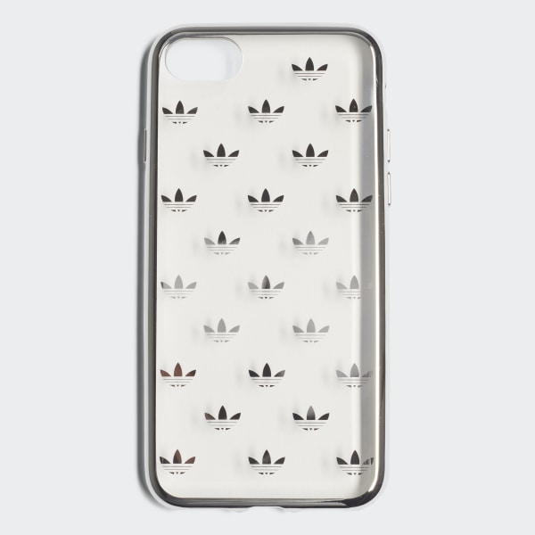 new concept 505ab 21960 adidas Clear Case iPhone 8 - Silver | adidas US