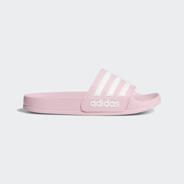 best loved 2f54a b4d81 Adilette Shower Slides True Pink   Cloud White   True Pink G27628