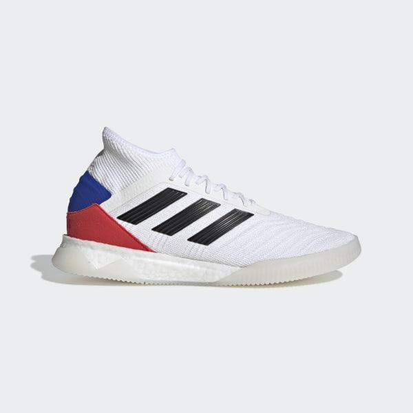 496b36747 Predator 19.1 Shoes Cloud White   Core Black   Active Red F35848
