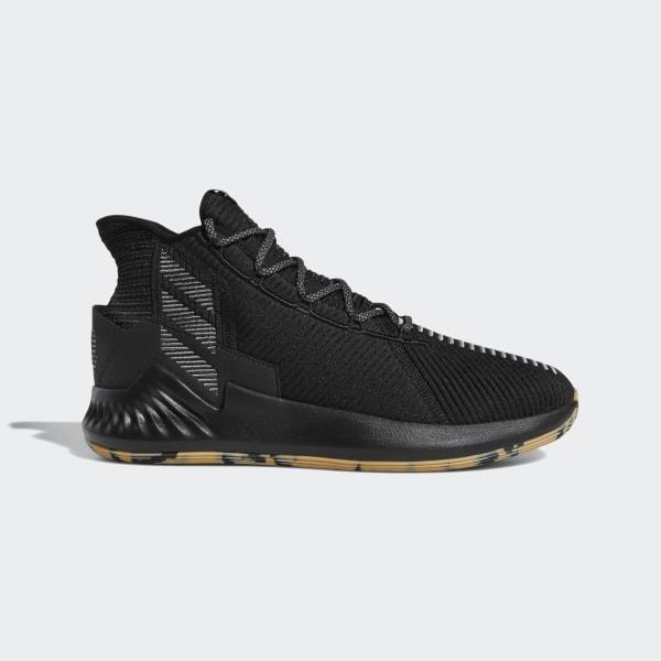 c2302f5a235 D Rose 9 Shoes Core Black   Grey Four   Cloud White F99883