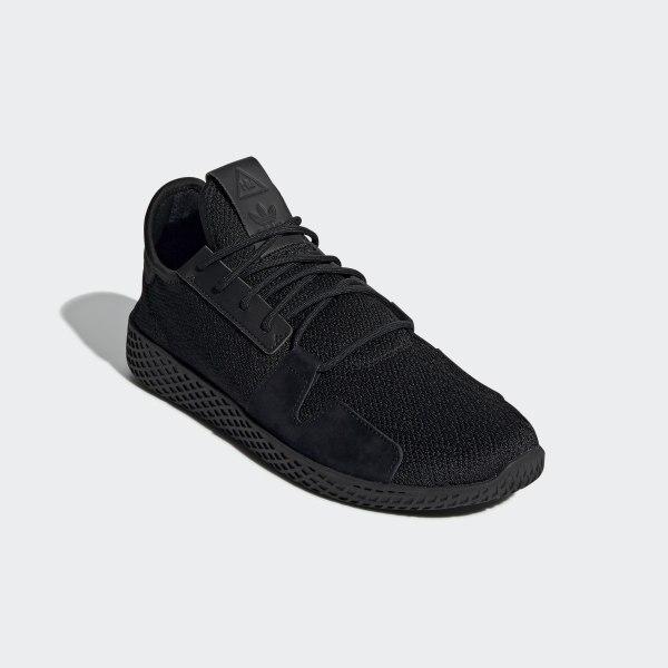 quality design c7bc3 a1434 adidas Pharrell Williams Tennis Hu V2 Shoes - Black | adidas UK