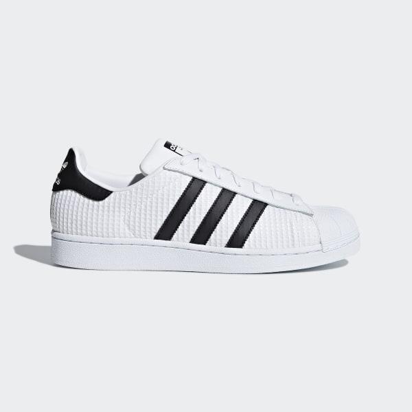 9e43aeeca Superstar Shoes Cloud White / Core Black / Cloud White CM8077