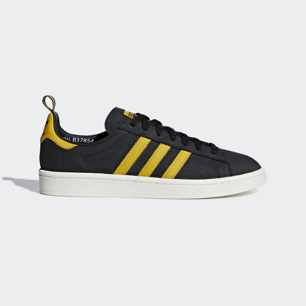 buy popular 48495 29d26 Campus Shoes Core Black   Eqt Yellow   Chalk White B37854