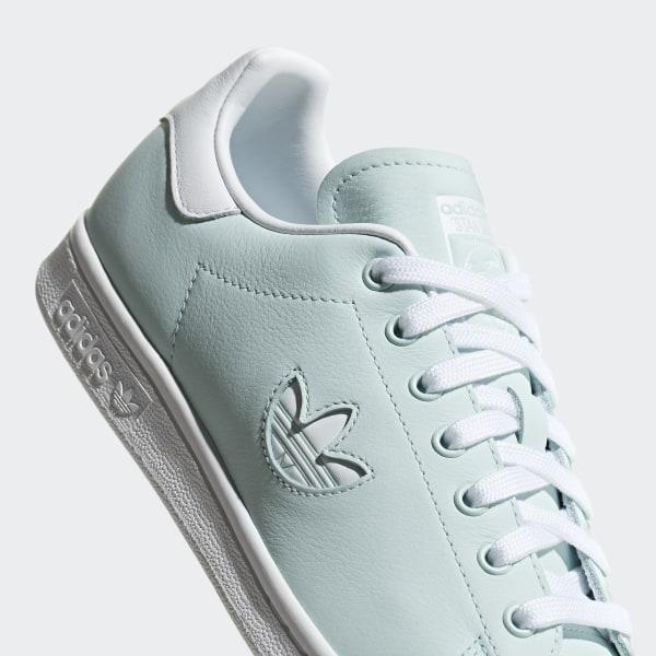 adidas Originals Stan Smith Baskets avec logo trèfle Menthe