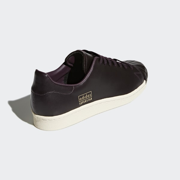 adidas (Adidas) SUPERSTAR 80s CLEAN (superstar 80s clean) CQ2170 Noble red