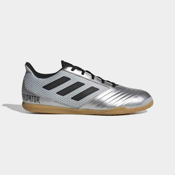 3a6a1ce3d6 Chuteira Predator 19.4 Futsal silver met.   core black   hi-res red s18
