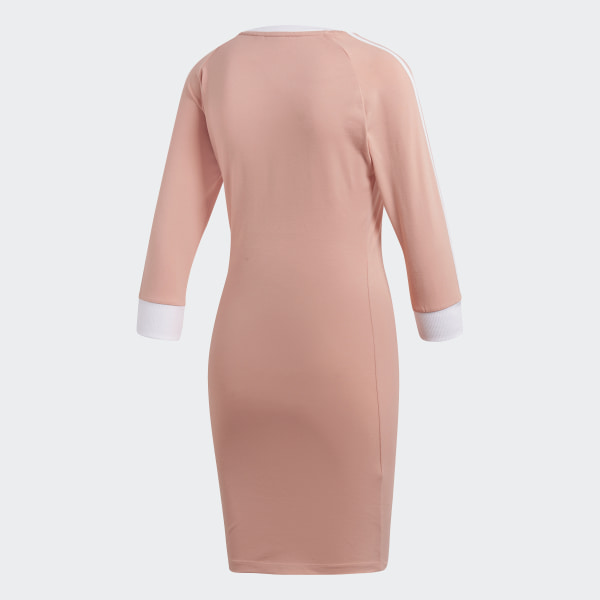 e1cfa64cedc adidas 3-Stripes Dress - Pink | adidas UK