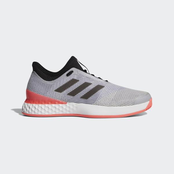 a0091dc5 Zapatilla Adizero Ubersonic 3.0 Grey / Core Black / Flash Red CP8853