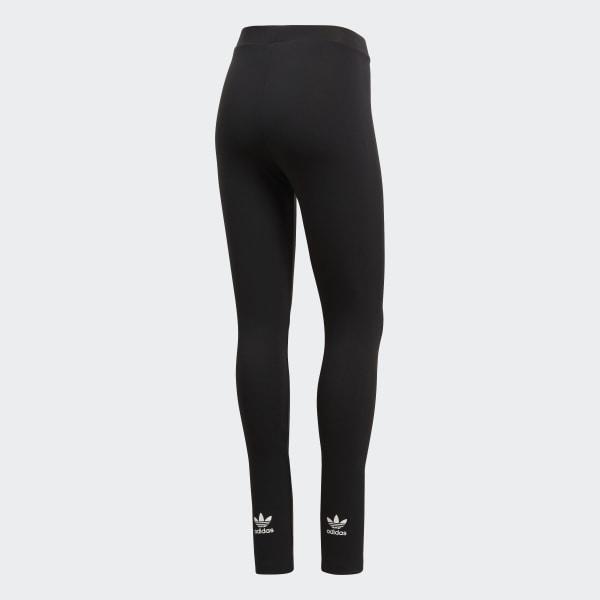 adidas originals adicolor trefoil leggings in black reviews