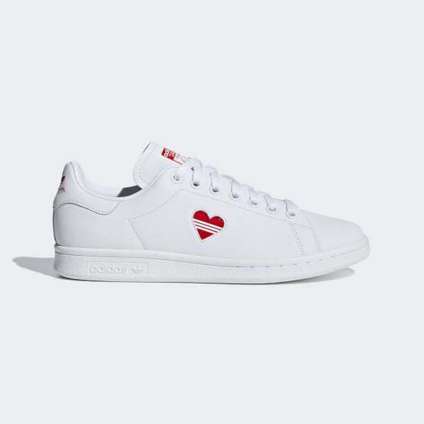 uk availability 1ddda 6f9e1 Stan Smith Shoes Cloud White   Active Red   Cloud White G27893