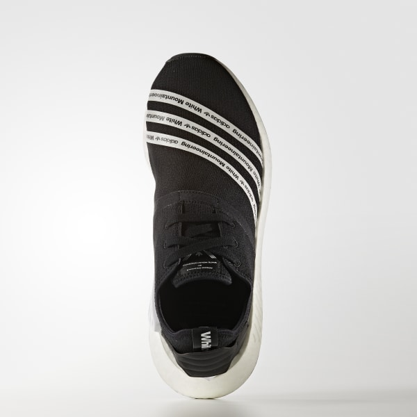 buy online 9e71d f3760 White Mountaineering NMD R2 Shoes Core Black   Cloud White   Cloud White  BB2978