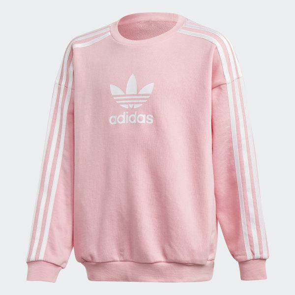 cc476e3860 adidas Culture Clash Sweatshirt - Pink | adidas US