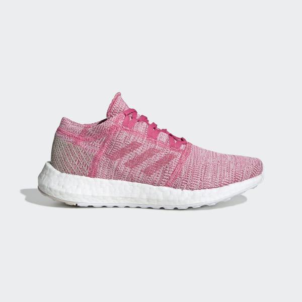 0f38ea845 Pureboost Go Shoes Semi Solar Pink / Semi Solar Pink / Clear Brown F34010