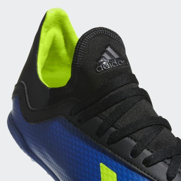 2a013958c0ee X Tango 18.3 Turf Cleats Football Blue / Solar Yellow / Core Black DB2422