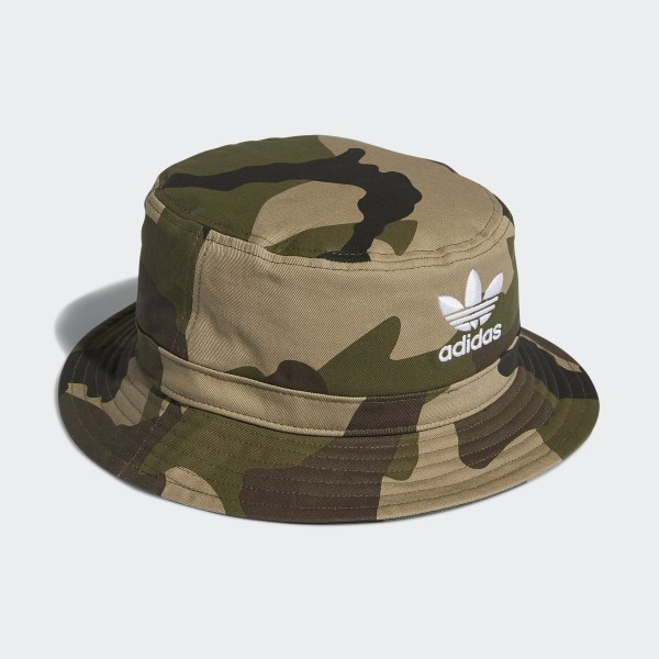 adidas Camo Bucket Hat - Green | adidas US