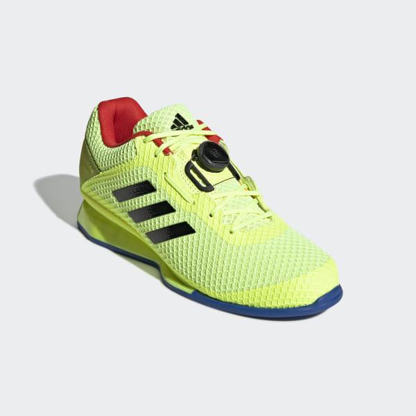 Details zu Adidas Leistung 16 2.0 Herren Gewichtheben Schuhe CrossFit Powerlift Schwarz