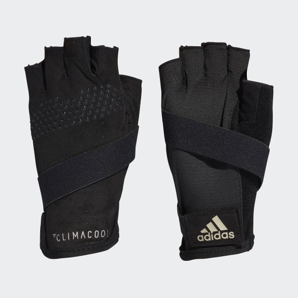 df8f089ec34a6c Climacool Handschuhe Black / Cyber Metallic / Matte Silver CF6140
