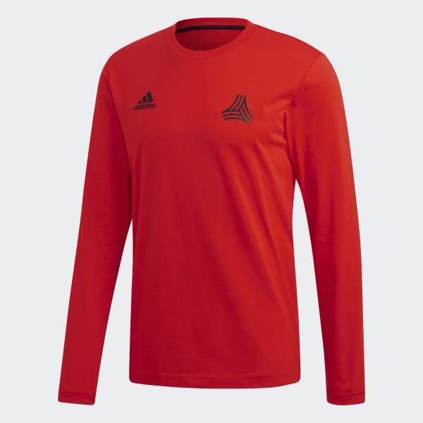 64353256e0 adidas TAN Graphic Cotton T-Shirt - Red | adidas UK