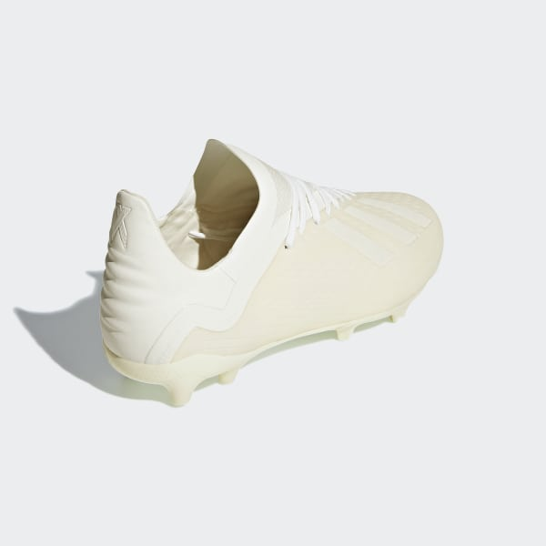 e3cf848b2 X 18.1 Firm Ground Cleats Off White / Cloud White / Off White DB2430
