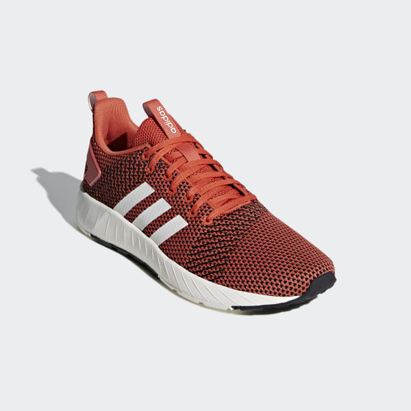 Details about Adidas Sport Shoes Sneakers Orange Black Questar Byd Sportswear Lifestyle
