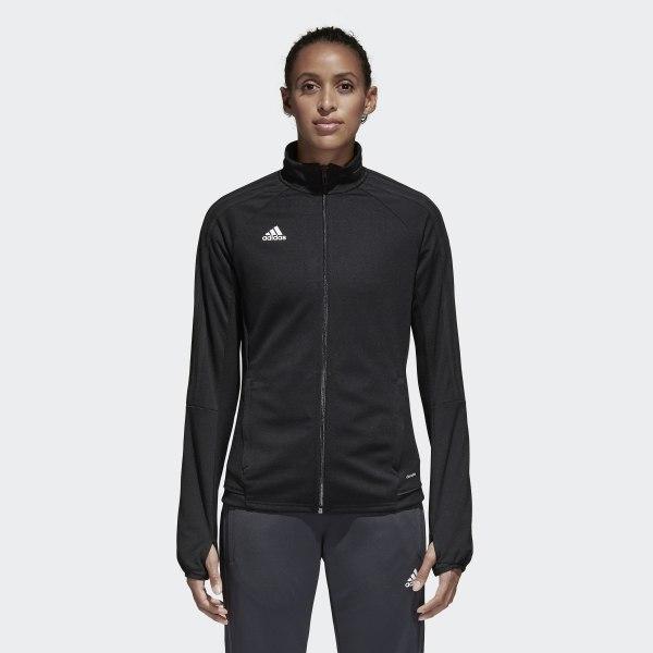 1bfa7768f adidas Tiro 17 Training Jacket - Black | adidas Canada