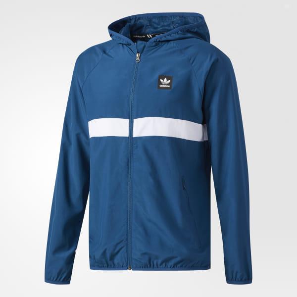 a354045da0 adidas BB Packable Wind Jacket - Blue | adidas US