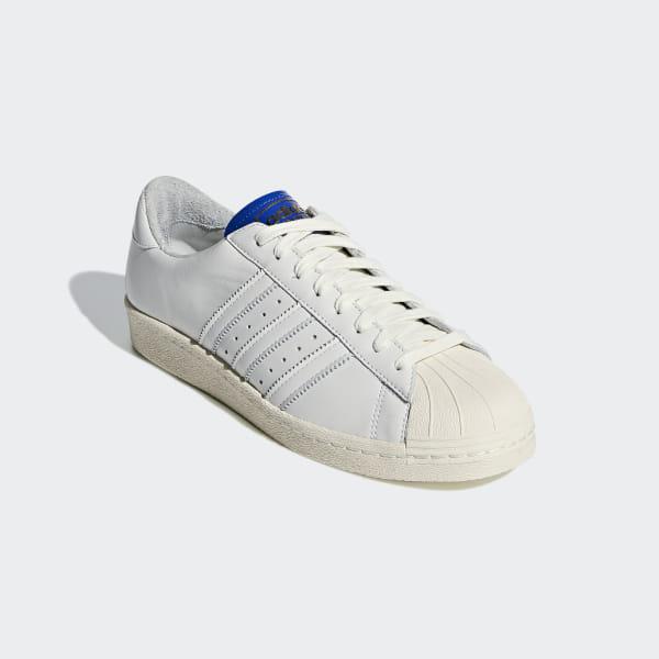 Adidas Superstar BT Schuhe Weiß Blau BD7602 Damen Herren
