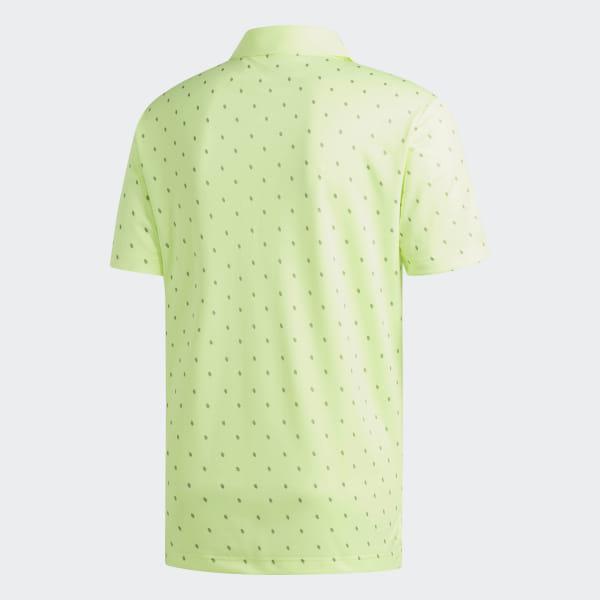 1d180ae4 Pine Cone Critter Printed Polo Shirt Hi-Res Yellow / Grey Three DQ2298