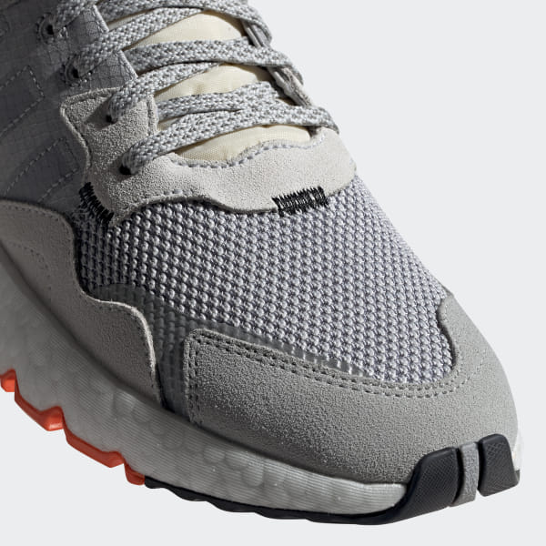 dc81519f219 Nite Jogger Shoes Grey Two / Multi Solid Grey / Solar Orange DB3361