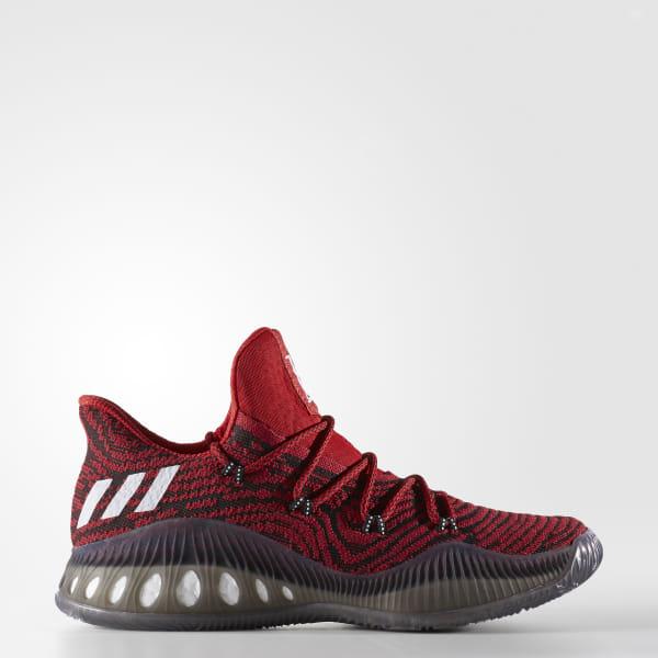 e90d9db21dcf Crazy Explosive Low Primeknit Shoes Scarlet   Cloud White   Core Black  BB8347