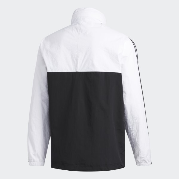 2895b5840 adidas Outline Half-Zip Anorak Jacket - Black | adidas Ireland