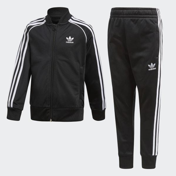1aeb520949 adidas Trefoil SST Track Suit - Black | adidas US