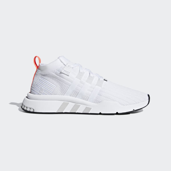 b53a29f565764 EQT Support Mid ADV Primeknit Shoes Cloud White / Grey One / Core Black  B28133