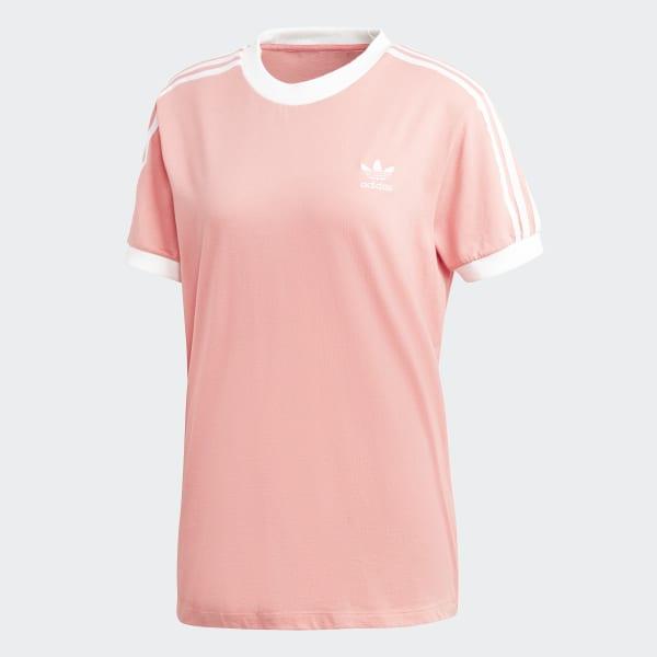 8543d96caa adidas 3-Stripes Tee - Pink | adidas US