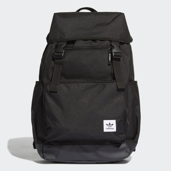 cf3b83834cb adidas Top-Loader Backpack - Black | adidas Australia
