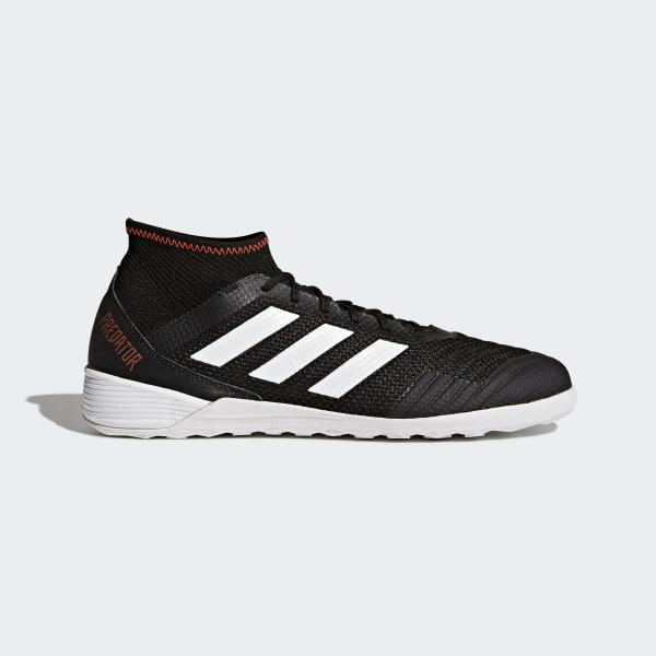 7829e68fd Predator Tango 18.3 Indoor Boots Core Black / Cloud White / Solar Red CP9282