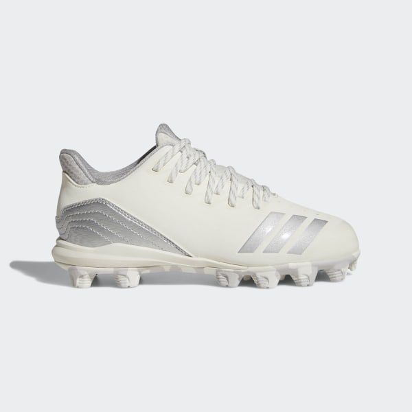 d1135ce2d09 Icon 4 MD Cleats Running White   Silver Metallic   Grey Two AQ0184