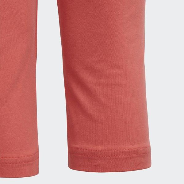 fec7523f60219 Essentials Linear 3/4 Leggings Prism Pink / White DV0341