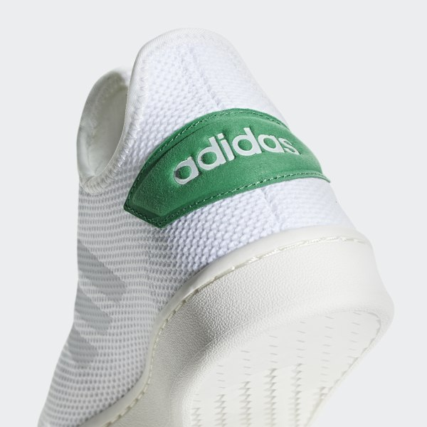 new style 5e19a 075e0 Court Adapt Shoes Cloud White   Cloud White   Green F36417