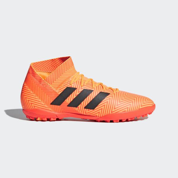 64572c9b Zapatilla de fútbol Nemeziz Tango 18.3 moqueta Zest / Core Black / Solar  Red DA9622