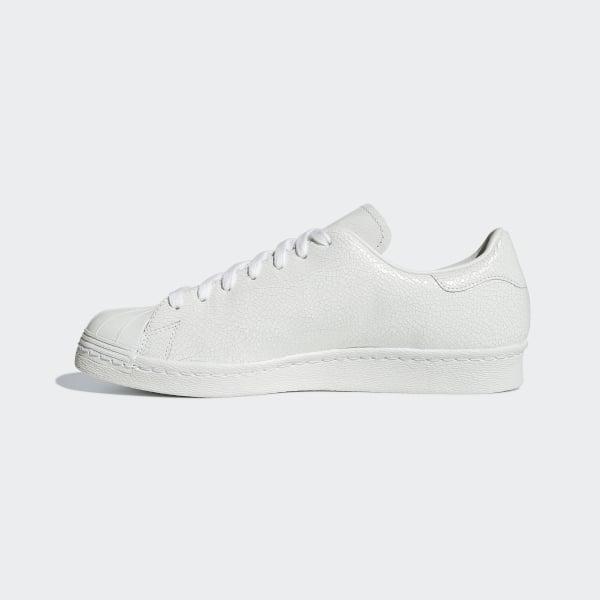 Adidas Superstar 80s Clean Footwear WhiteGold Metallic