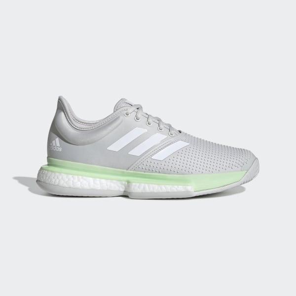 adidas SoleCourt Boost Shoes Πράσινο | adidas MLT