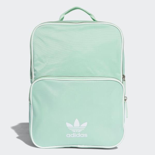 751eb2f6aac19 adidas Classic Backpack Medium - Turquoise | adidas UK