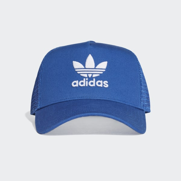 c711efbb9 adidas Trefoil Trucker Cap - Blue | adidas Canada