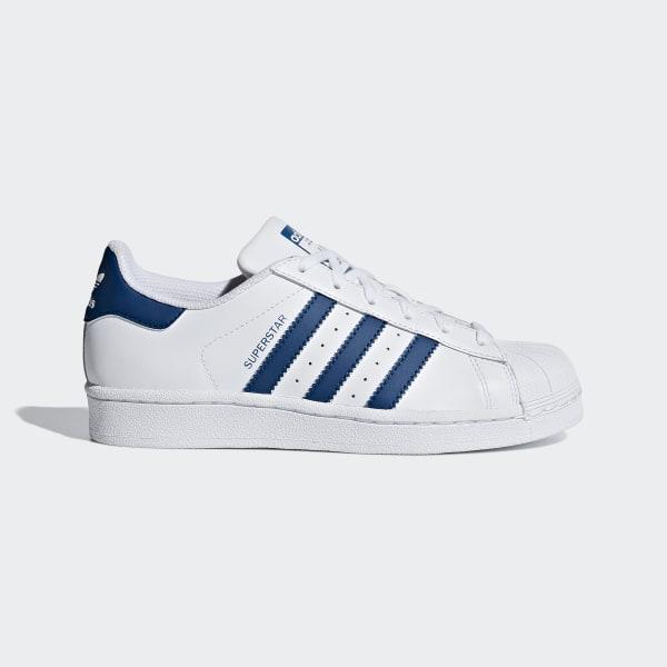 adidas Superstar Shoes Blue | adidas UK