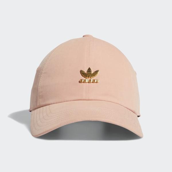 79b6b1063 adidas Relaxed Metal Strap-Back Hat - Pink | adidas US